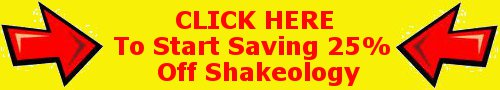 Shakeology Discount - Save 25%